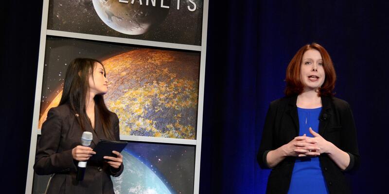 NASA'nın keşfettiği 7 gezegeni bir de böyle görün