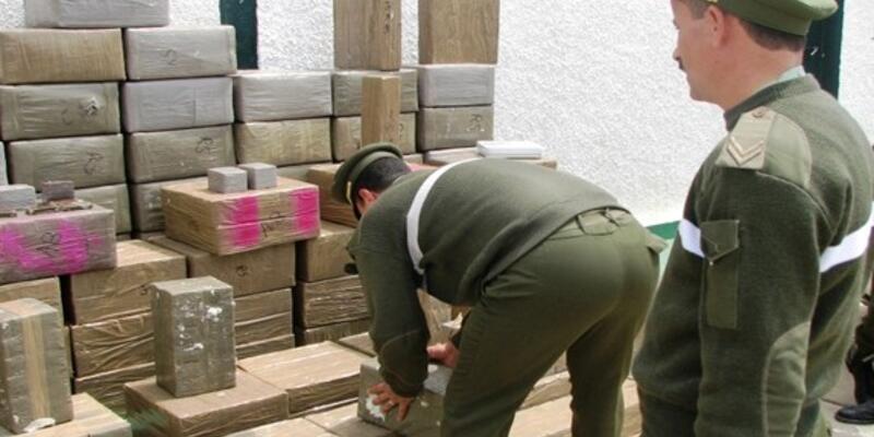 Fas'ta 3 ton uyuşturucu ele geçirildi