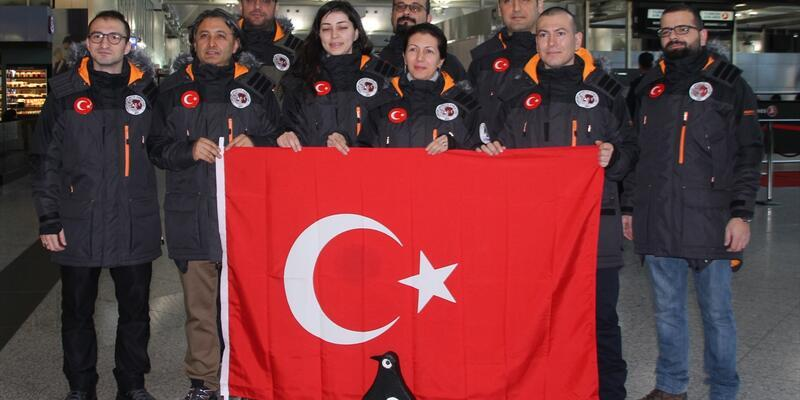 Şu çılgın Türkler Antarktika'da