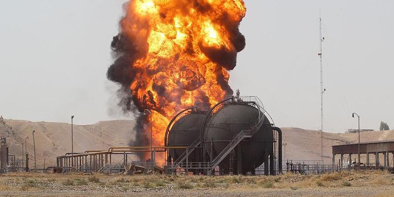 Kerkük'te petrol kuyusuna saldırı