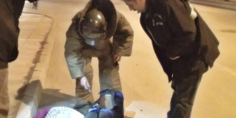 Polisi alarma geçiren çantadan kadın iç çamaşırları çıktı