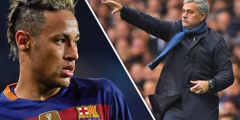 Mourinho ile Neymar telefonda transferi görüştü