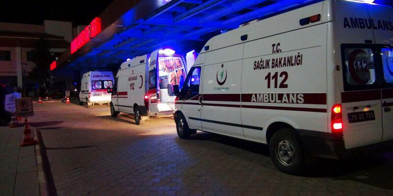 El Bab'da yaralanan 12 ÖSO askeri, Kilis'e getirildi