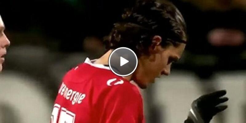 Enes Ünal'ın gol sevinci Hollanda'yı salladı