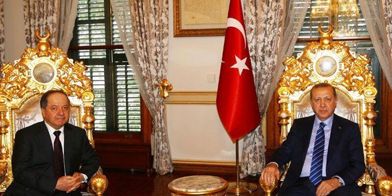 Önemli Erdoğan-Barzani görüşmesi sona erdi