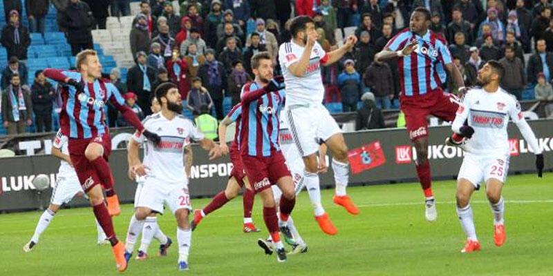 Trabzonspor kalesini gole kapattı