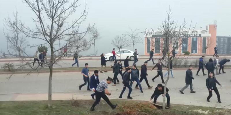Kocaeli Üniversitesi'nde olay: 47 gözaltı