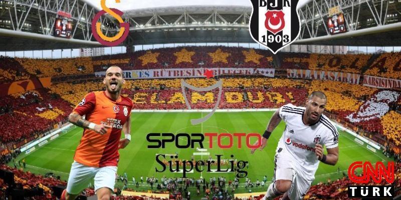 Derbi: Galatasaray-Beşiktaş canlı izle   GS-BJK canlı yayınla beIN Sports'ta