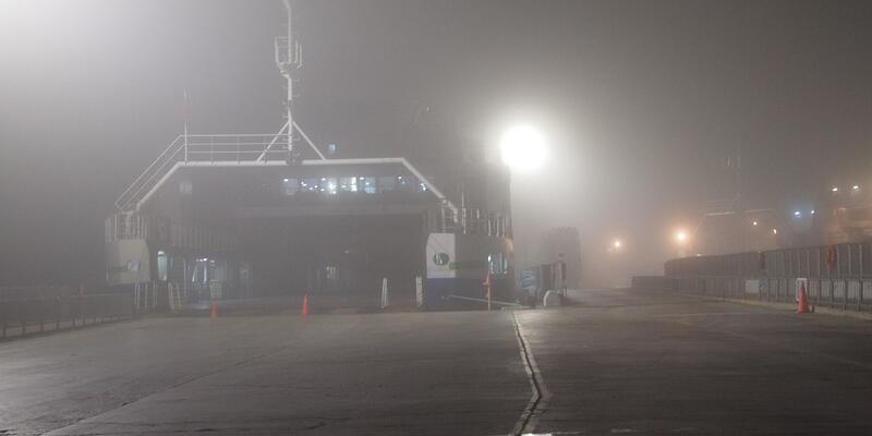 Çanakkale'de feribot seferleri durdu