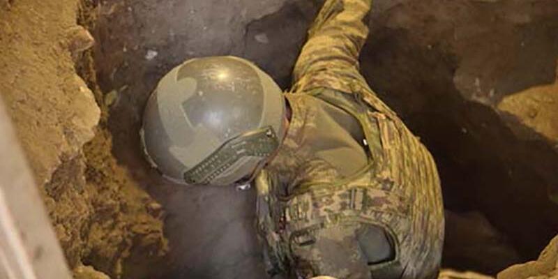 Nusaybin'de bodruma kazılan tünelde çatışma: 3 PKK'lı öldürüldü