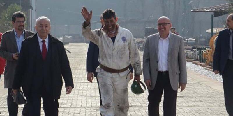 Metin Feyzioğlu maden ocağına girdi: 'Ocağa giren ile çıkan Metin aynı değil'