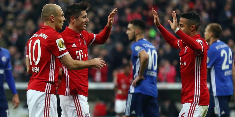 Bayern Münih 3-0 Schalke / Maç Özeti