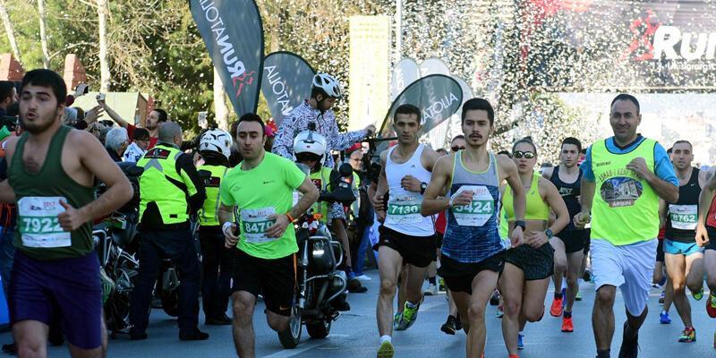 Antalya'daki maratonda talihsiz ölüm