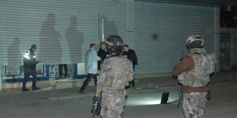 Adana'da markete saldırı