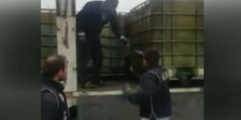 İstanbul'da 20 bin litre kaçak akaryakıt ele geçirildi