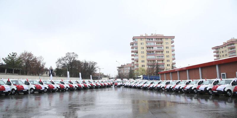 Türk Kızılayı filosuna 55 yeni araç