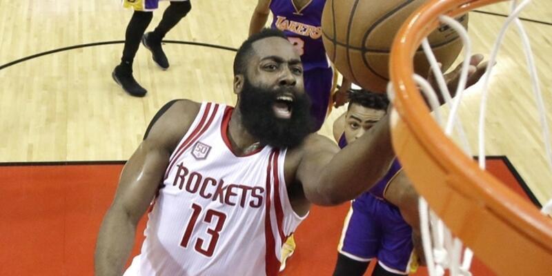Rockets Lakers'ı ezdi geçti