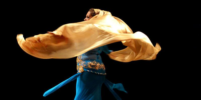 Oryantal dansın 'kitabını' yazan kadın!