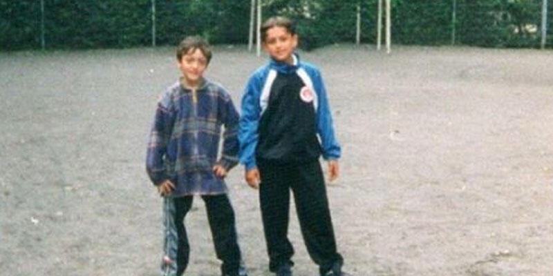 Mesut Özil'den çocukluk fotoğrafı