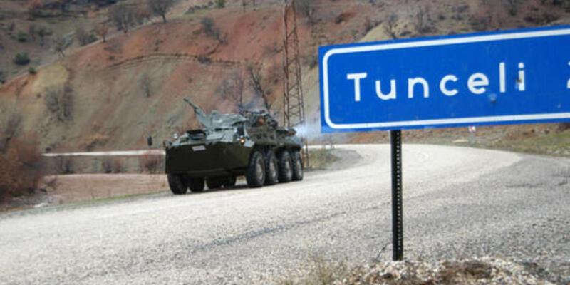 Son dakika: Tunceli'de büyük operasyon