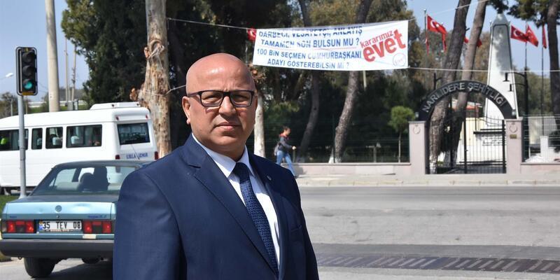 İzmir'de referandum afişi krizi