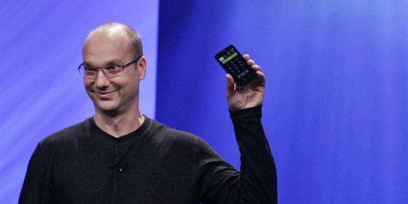 Andy Rubin tarafından tasarlanan telefon su yüzüne çıktı