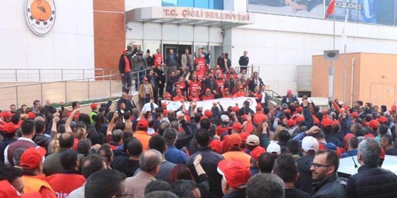 İzmir'de grev rüzgarı