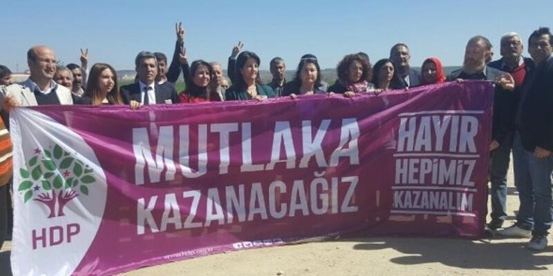 HDP Edirne ve Kandıra'dan yola çıktı