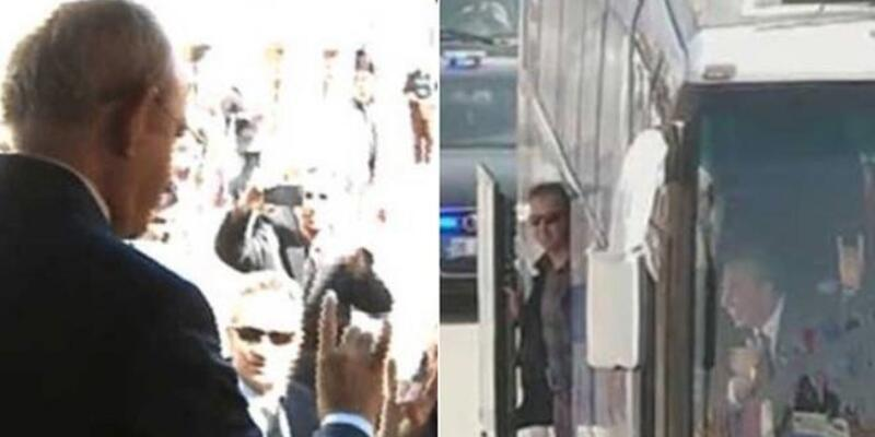 Kemal Kılıçdaroğlu'ndan bozkurt işareti