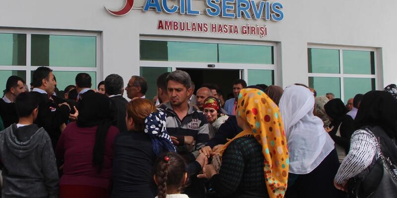 Nusaybin'de patlama: 2 çocuk ağır yaralı
