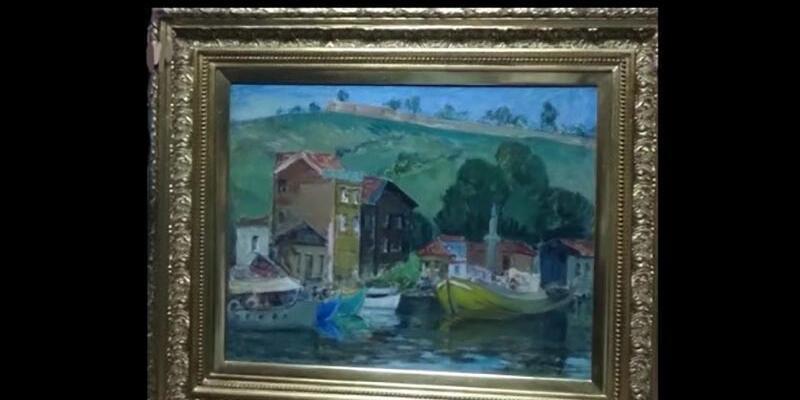 Polis, Resim Heykel Müzesi'den çalınan 3 tabloyu buldu