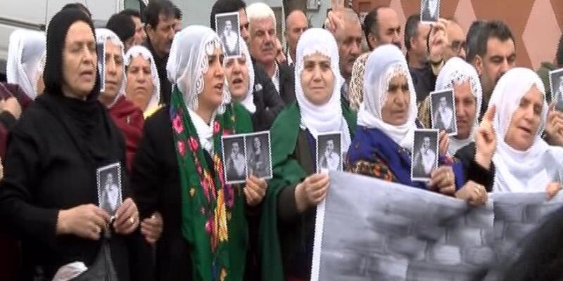 Bakırköy Cezaevi önünde eylem
