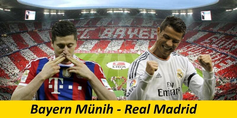 Bayern Münih-Real Madrid maçı izle | Real Madrid maçı hangi kanalda?