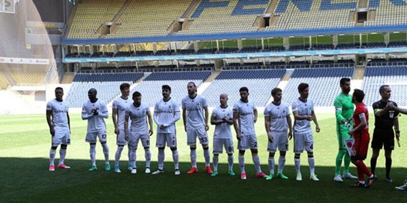Fenerbahçe hazırlık maçında Ümraniyespor'u yendi