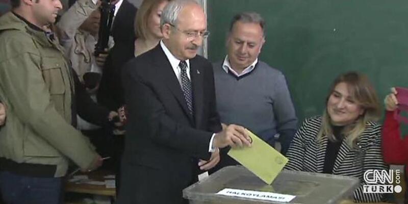 Kılıçdaroğlu'nun sandığından 'hayır' çıktı