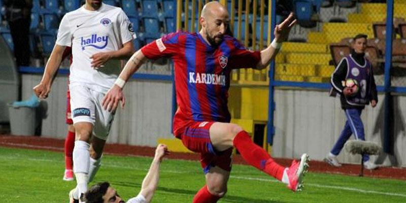 Karabükspor - Kasımpaşa maçından gol çıkmadı
