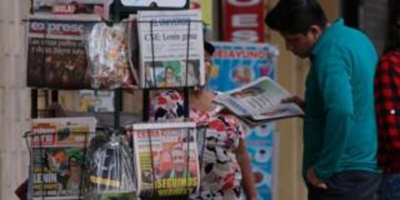 Ekvador'da başkan adayının yolsuzluk iddialarını yayınlamayan medyaya ceza