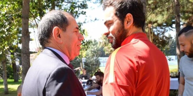 Dursun Özbek'ten tesislere sürpriz ziyaret