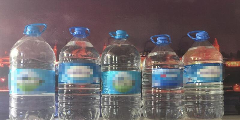 Malkara'da 25 litre kaçak içki ele geçirildi