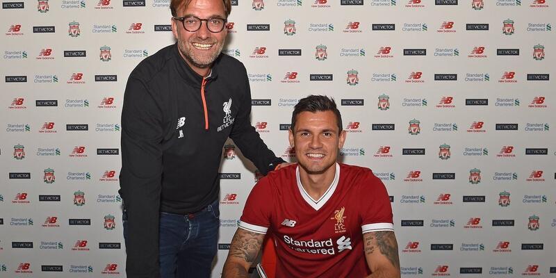 Lovren Liverpool'la sözleşme uzattı