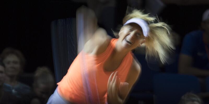 Maria Sharapova yarı finalde