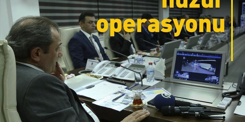 Operasyonlarda bin 628 kişi yakalandı