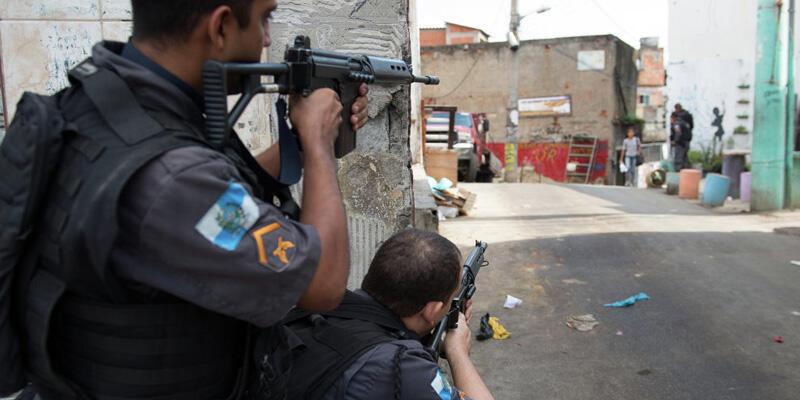 Brezilya'da polis operasyonuna misilleme