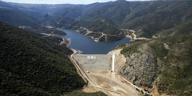 Karaburun'a içme suyu sağlayacak Bozköy Barajı hazır