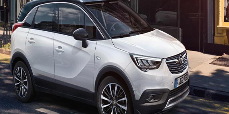 Opel'den  şehirli crossover  Crossland X