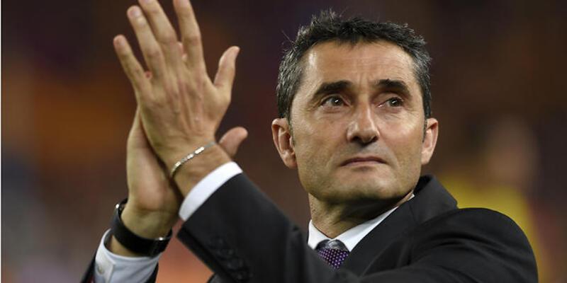 Barcelona Valverde'nin sözleşmesini yeniledi