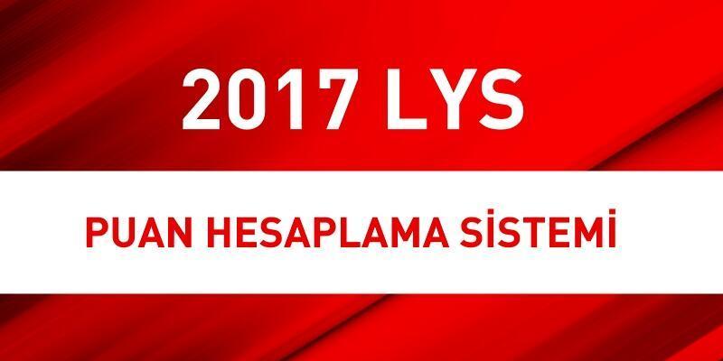 2017 LYS puan hesaplama nasıl yapılır?