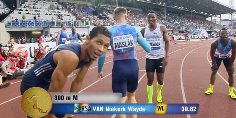 Van Niekerk'ten dünya rekoru