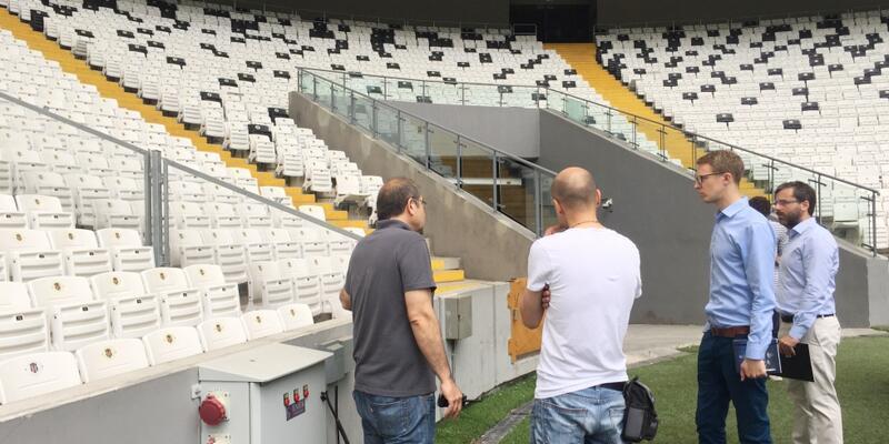 UEFA Vodafone Park'ı inceledi