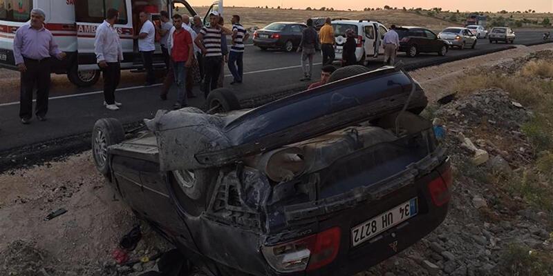 Midyat'ta trafik kazası, 3 yaralı